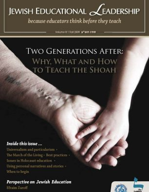 JEL 8-1 fall2009 Why What and How to Teach the Shoah