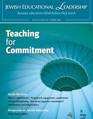 JEL 9-2 winter2011 Teaching for Commitment