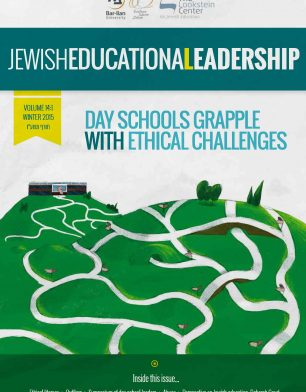 JEL 14-1 winter2015 Day Schools Grapple with Ethical Challenges