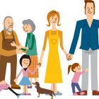 family cartoon graphic