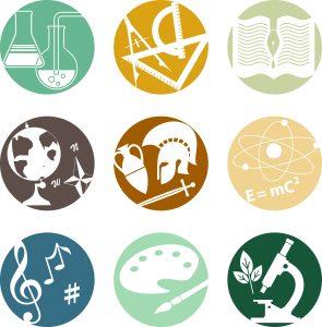 icon of many disciplines